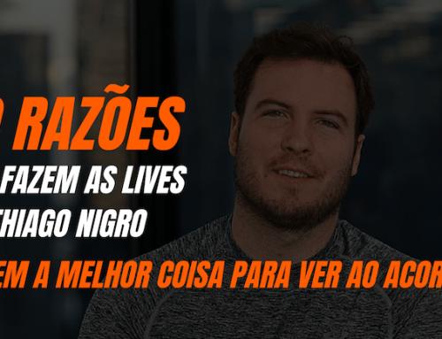 10 razões que fazem as lives do Thiago Nigro serem a melhor coisa para ver ao acordar